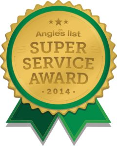 Angies List Super Service Award 2014
